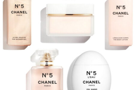 Chanel N 5 2020 Bath and Body Collection 副本 450x300 - Chanel No.5 Bath & Body Collection 2020