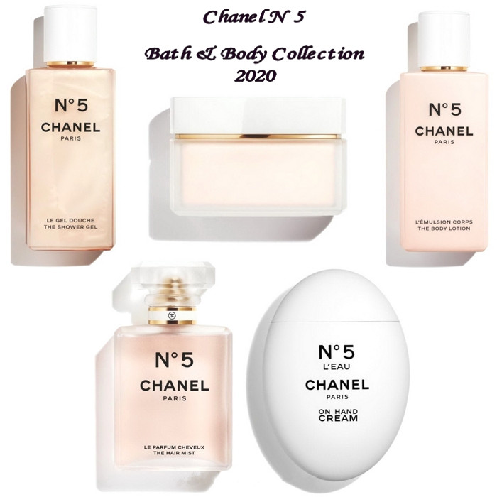 Chanel N 5 2020 Bath and Body Collection 副本 - Chanel No.5 Bath & Body Collection 2020