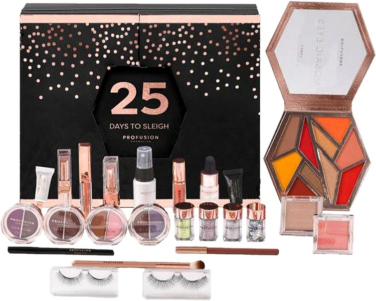 Profusion Cosmetics 25 Days to Sleigh Advent Calendar 2020 - Profusion Cosmetics 25 Days to Sleigh Advent Calendar 2020