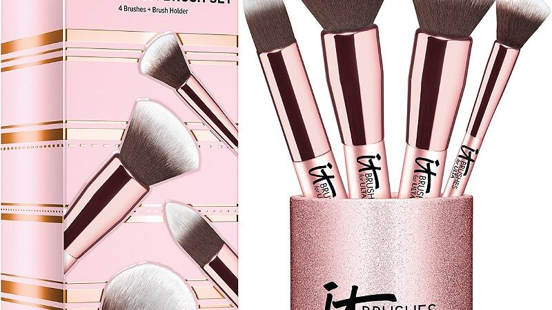 1 28 800x450 - IT Cosmetics Brushes For Ulta Rose Gold Complexion Brush Set