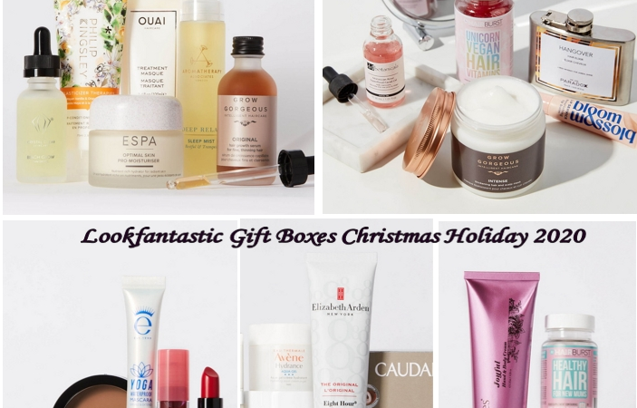 C8E4@9@6T2PX7@EMYY 703x450 - Lookfantastic Gift Boxes Christmas Holiday 2020