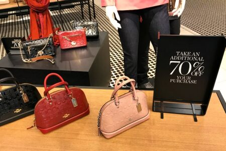 Coach Factory Outlet Sale 70 off 450x300 - Coach Outlet Black Friday 2021