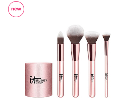 OVRP I64MTHU38DLBA3 - IT Cosmetics Brushes For Ulta Rose Gold Complexion Brush Set