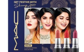 2 3 320x200 - MAC Cosmetics ×Shreya Jain limited edition Holiday Kits