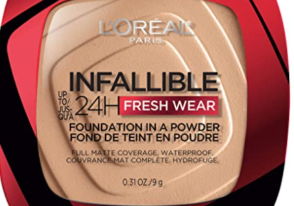 ADW@TCQ6FVOO7AY61BQ1 429x300 - L'Oreal Paris Infallible Fresh Wear Foundation in a Powder