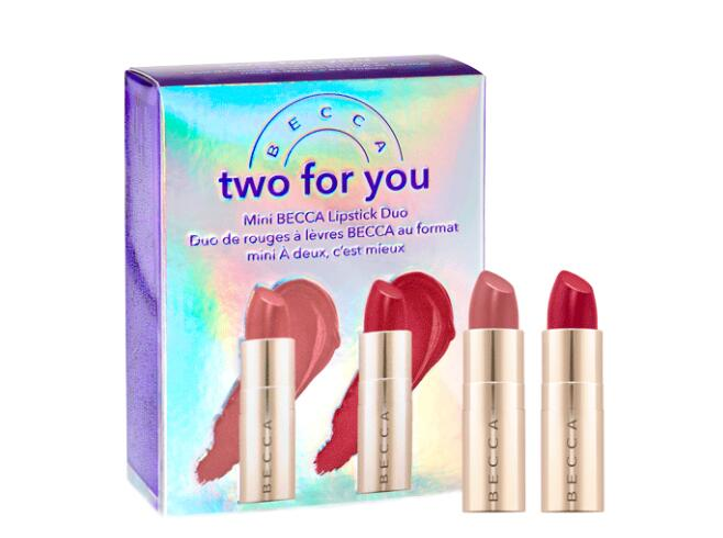 OPD@RHQ9LK66JBTDF - Becca Cosmetics Two For You Mini Lipstick