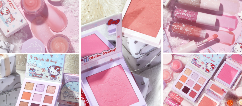 1 2 1024x450 - ColourPop X Hello Kitty Snow Much Fun Collection 2020