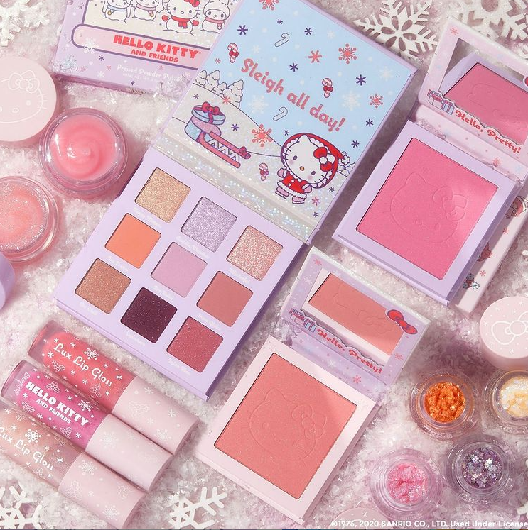 2 2 - ColourPop X Hello Kitty Snow Much Fun Collection 2020