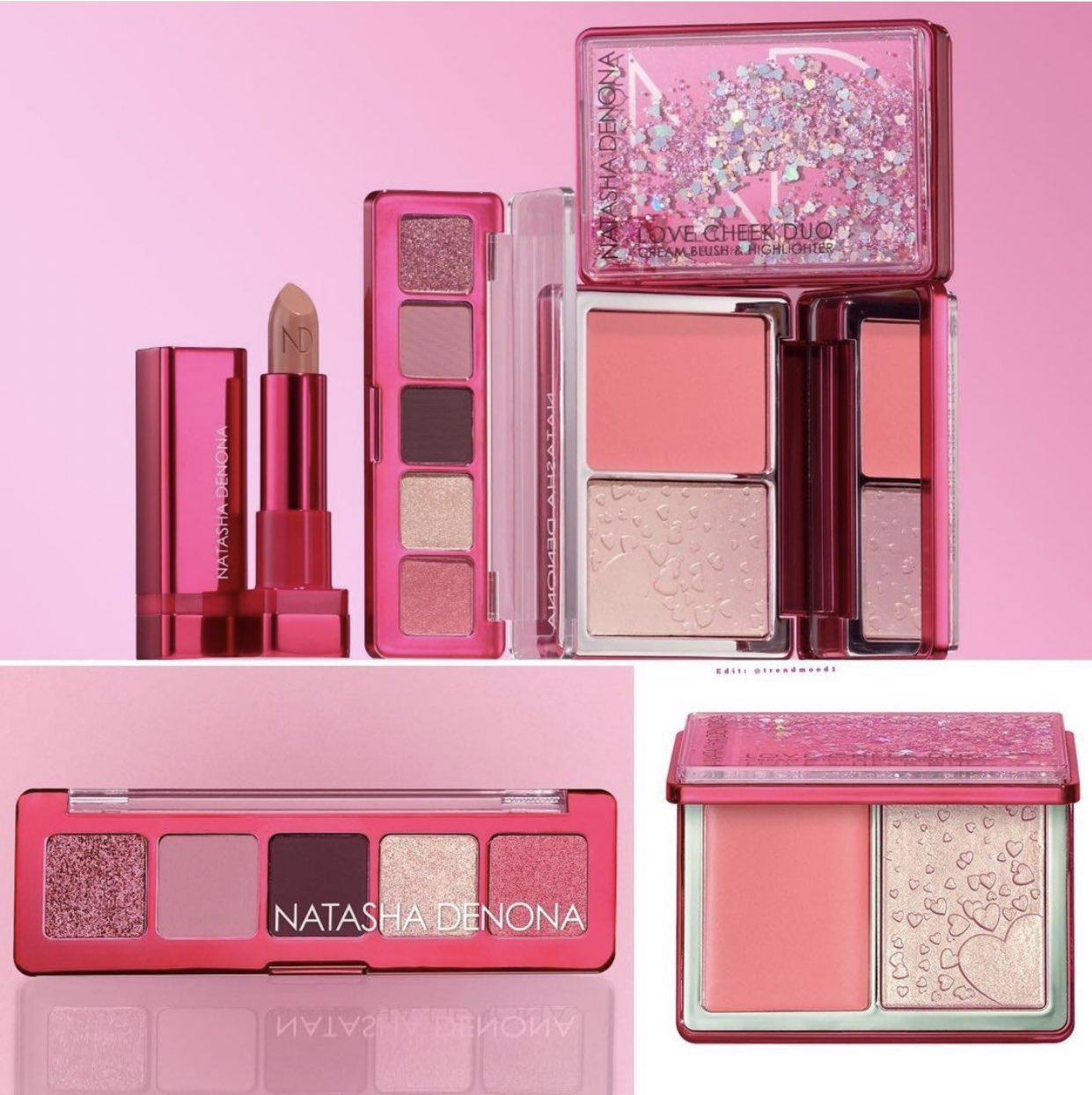 1 10 - Natasha Denona Love Mini Collection 2021
