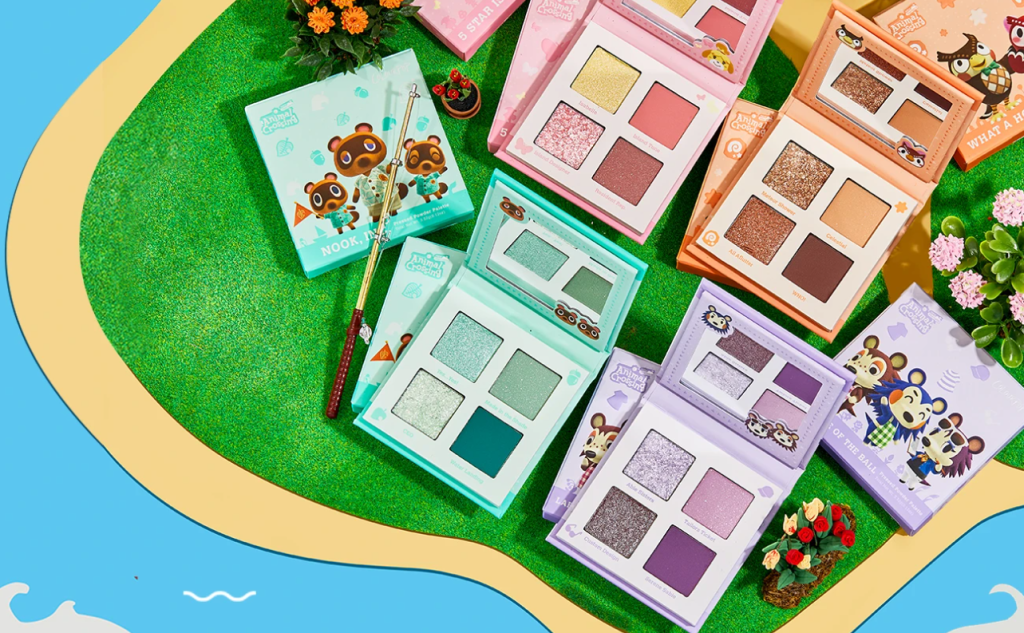 1 2 - ColourPop x Animal Crossing New Horizons Collection-Available Now