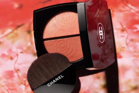 2I3RYY7GI9P5MD7ZYDY18 450x300 - Chanel Fleurs de Printemps Blush and Highlighter Duo
