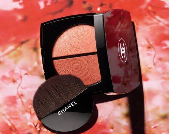 2I3RYY7GI9P5MD7ZYDY18 565x450 - Chanel Fleurs de Printemps Blush and Highlighter Duo