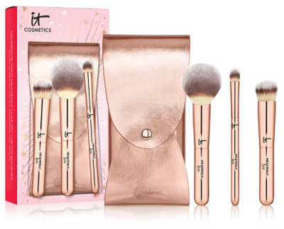 4 Pc. Celebrate Your Heavenly Luxe On The Go Makeup Brush Set - Today's Best-Selling Beauty Products at Macy's