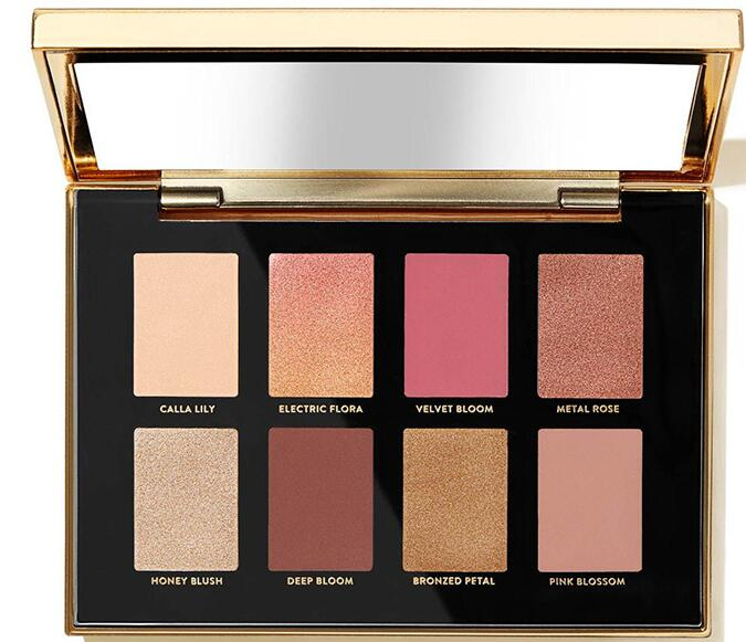 7E7L2L2K26 2D8 76A - Bobbi Brown Luxe Metal Rose Eyeshadow Palette