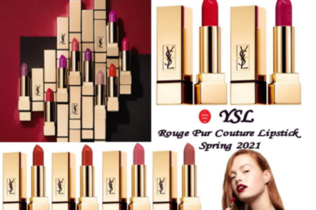 1 27 450x300 - YSL Rouge Pur Couture Lipstick Spring 2021