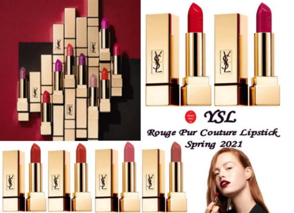 1 27 - YSL Rouge Pur Couture Lipstick Spring 2021