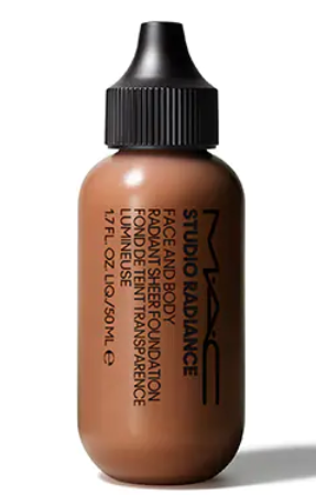MAC Studio Radiance Face And Body Radiant Sheer Foundation - MAC Studio Radiance Face And Body Radiant Sheer Foundation